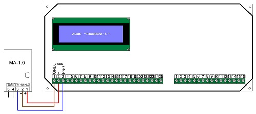 Адресная метка МА-1.0