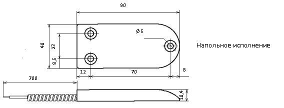 Датчики положения магнитогерконовые ДПМ-3