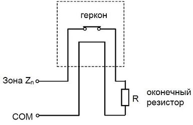 Датчик положения магнитогерконовый СК555