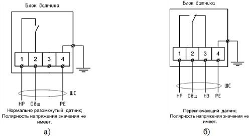 Извещатель охранный точечный магнитоконтактный ИО 102-58