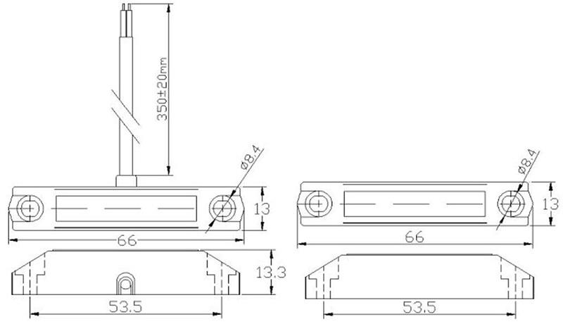 Извещатели охранные точечные магнитоконтактные ИО 102 СМК